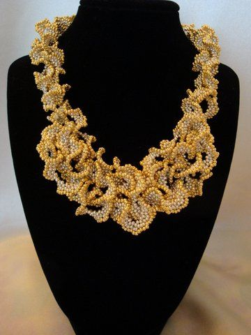 Mom's 1st Place Ruffled #Beaded #Necklace #Jewelry ...