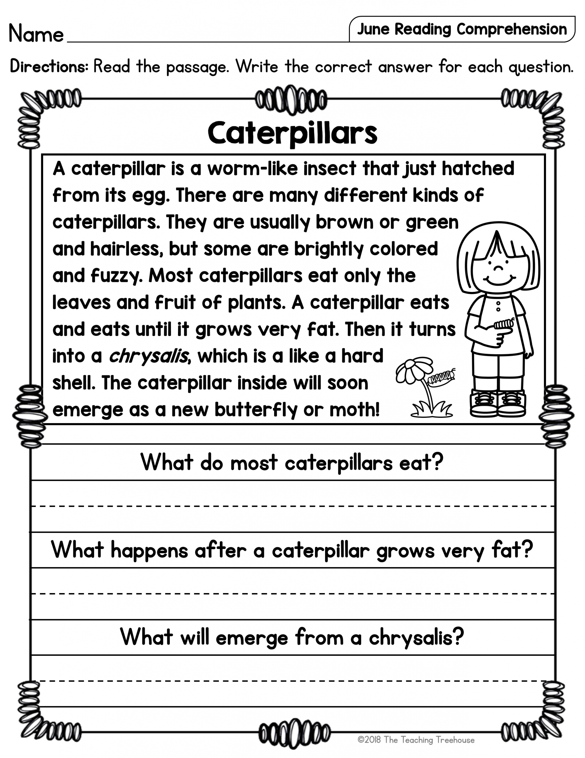 hight resolution of 4 Worksheet Reading Comprehension Worksheets First Grade 1 Childrens Sto…    Reading comprehension worksheets