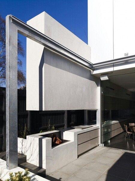 Barbacoa Moderna Terrazas Y Barbacoas Diseño De Exterior