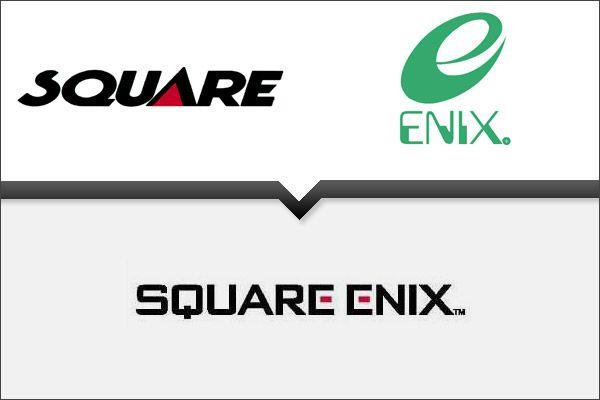Square Enix Logo Logos Company Logo Merger