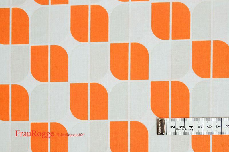 Designerstoffe USA - Baumwollstoff Hipster orange Riley Blake   - ein Designerstück von FrauRogge bei DaWanda