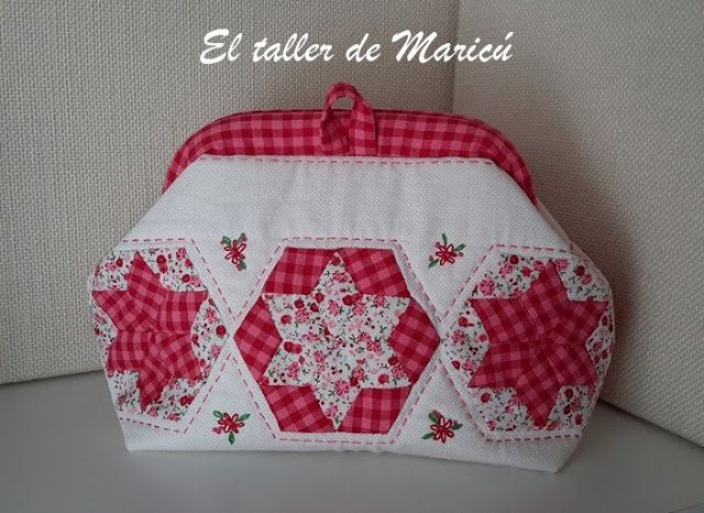 El taller de Maricú: Mini bolso Mary Poppins