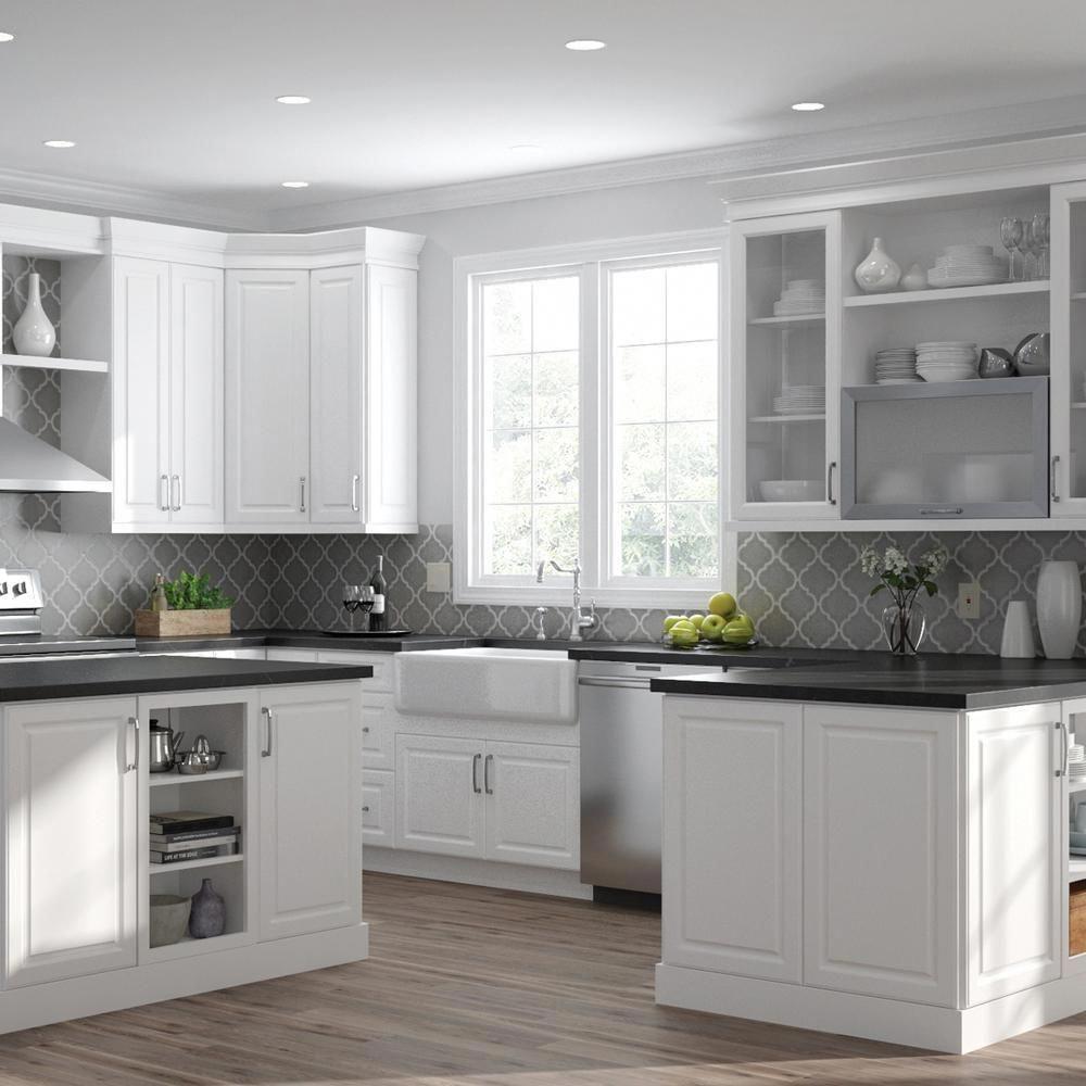 Best Hampton Bay Designer Series Elgin Assembled 36X36X12 In 400 x 300