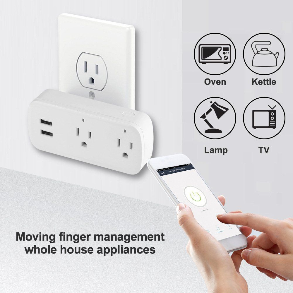 WIFI Smart Plug US Plug Smart Timing Socket Wireless Outlet control