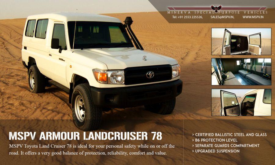 Armoured Toyota Land Cruiser In Mongolia Nepal Oman Pakistan