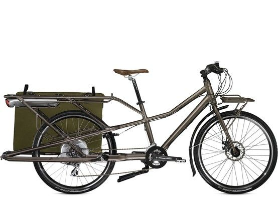 Trek Plus Transport Cargo Bike Can Hold 200 Pounds Easily