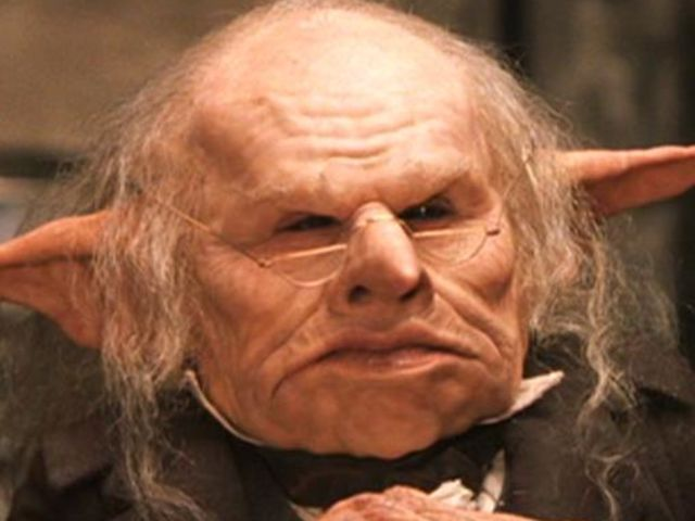 Goblins Worked At The Bank Harry Potter Goblin Harry Potter Creatures Harry Potter Wiki