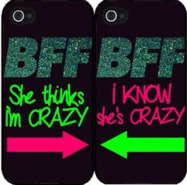 She thinks I'm crazy I know she's crazy