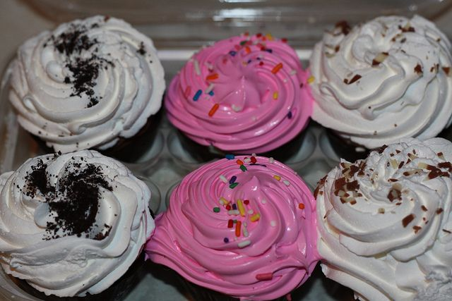 How to make cold stone creamery cupcakes