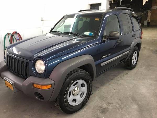 2002 Jeep Liberty Sport 4wd 4x4 Blue
