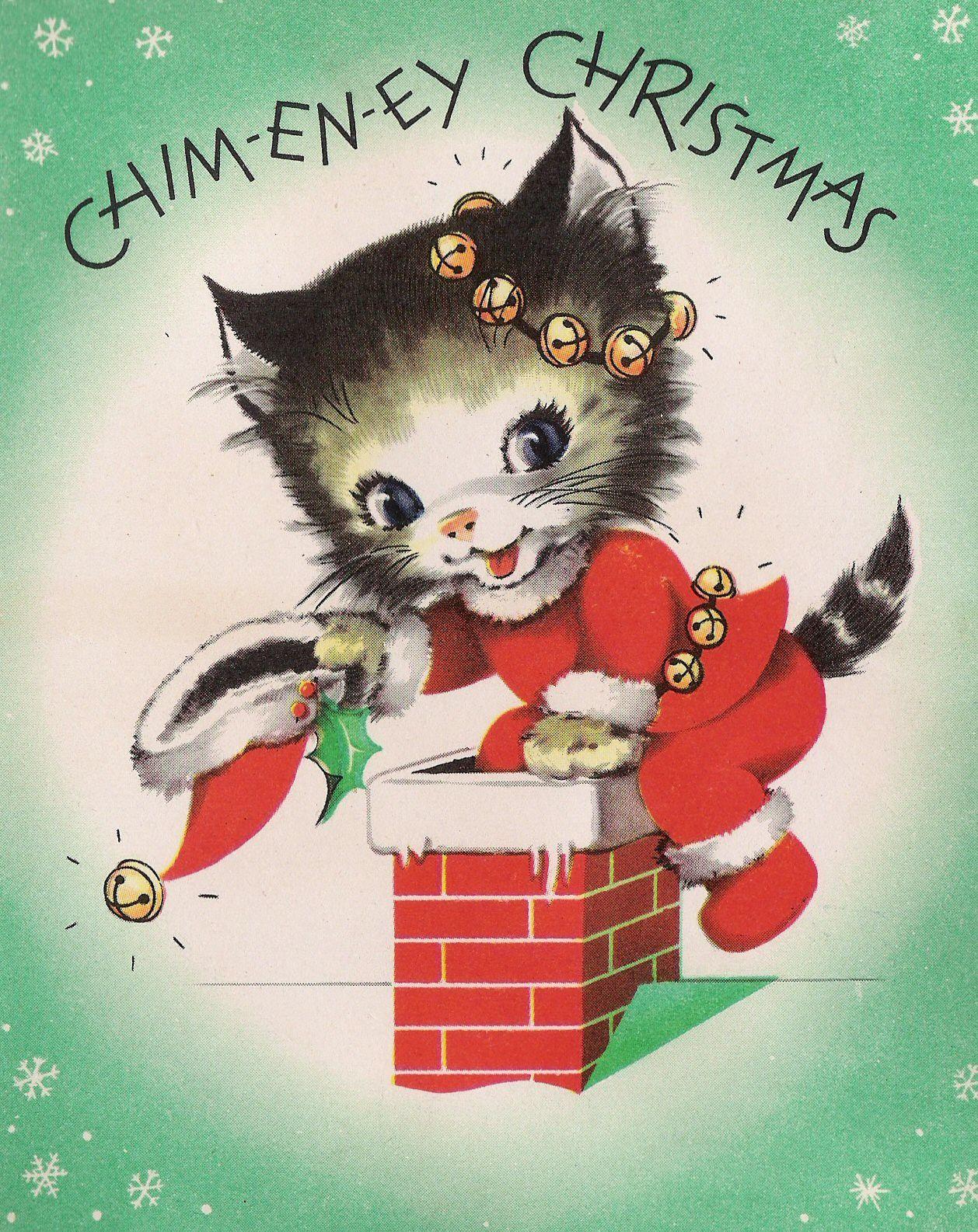 Untitled  Vintage weihnachtskarten, Vintage weihnachten, Vintage