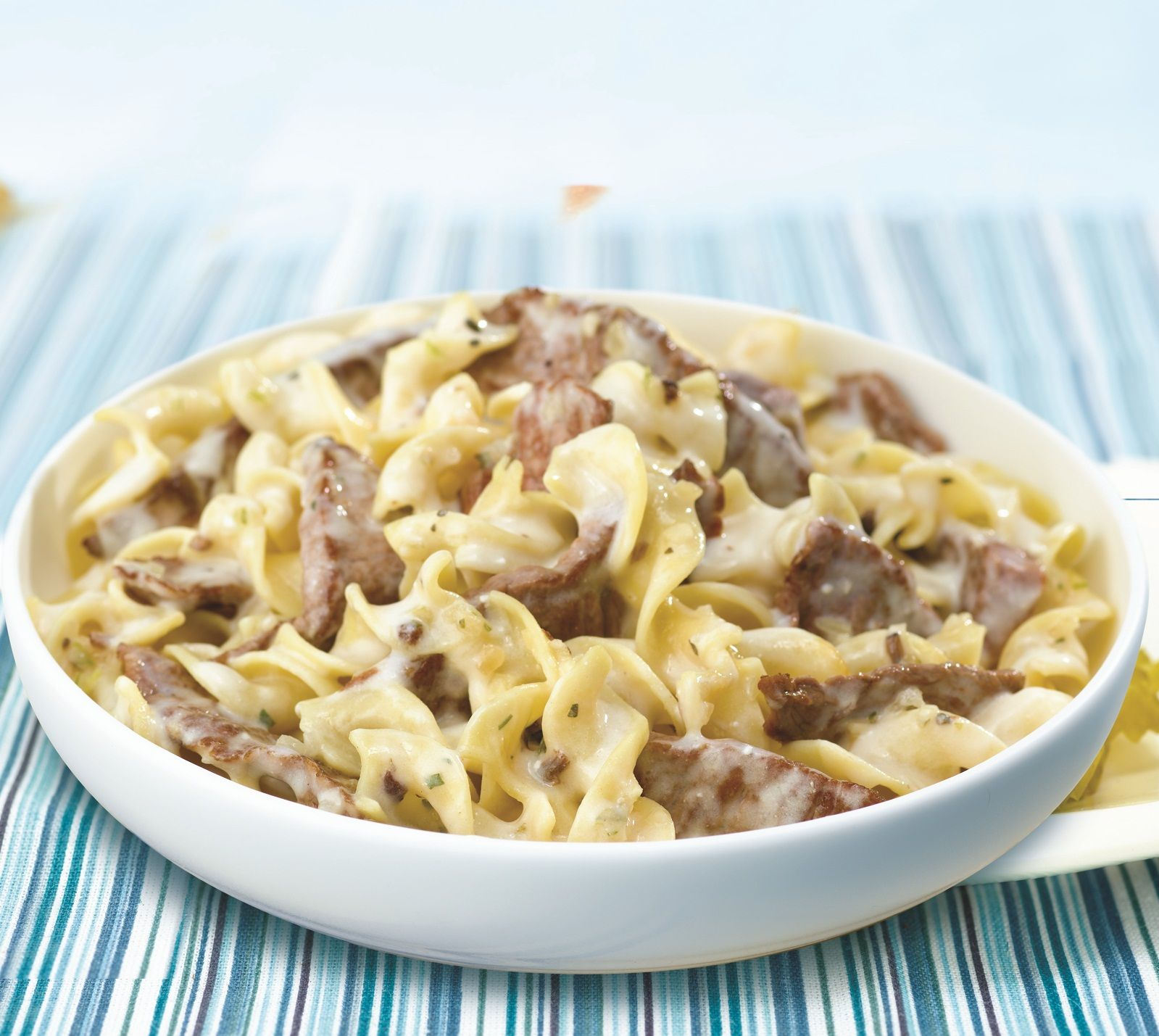 Slow Cooker Ground Beef Stroganoff Recipe: Beef Stroganoff And Family