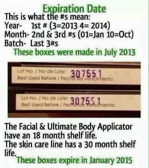 Expiration Dates For Wraps It Works Wraps My It Works How To Know