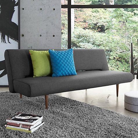Buy Innovation Unfurl Sofa Bed With Pocket Sprung Mattress, Dark Leg Online  At Johnlewis.