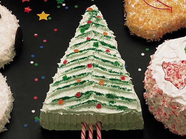 Christmas Tree Cake Recipe Christmas Tree Cake Christmas Recipes Easy Christmas Cake