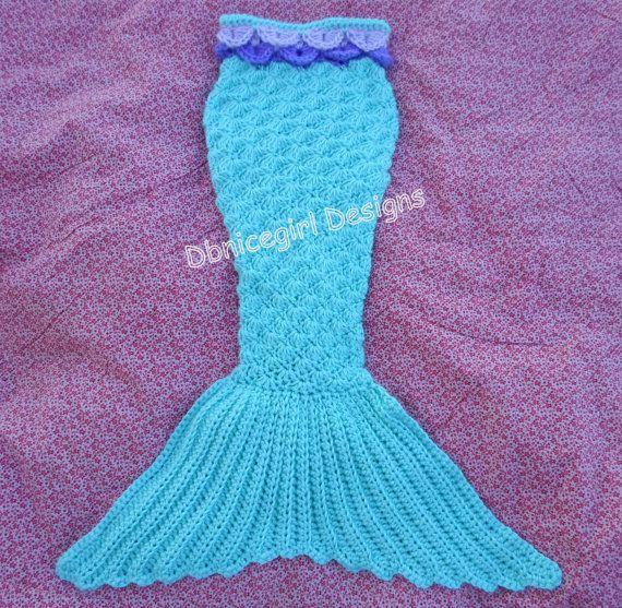 Mermaid Tail Crochet Pattern Newborn through by DbnicegirlDesigns ...