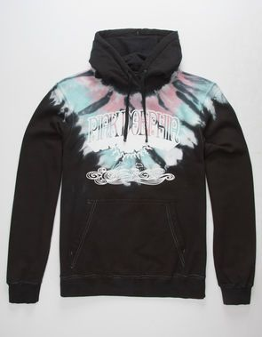 decf8cb204b4 PINK DOLPHIN Sunrise Cross Mens Hoodie