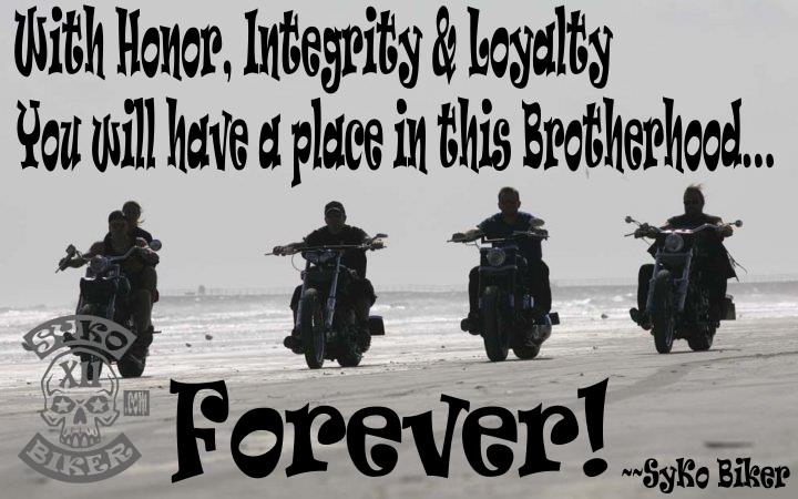 honor. integrity. loyalty.