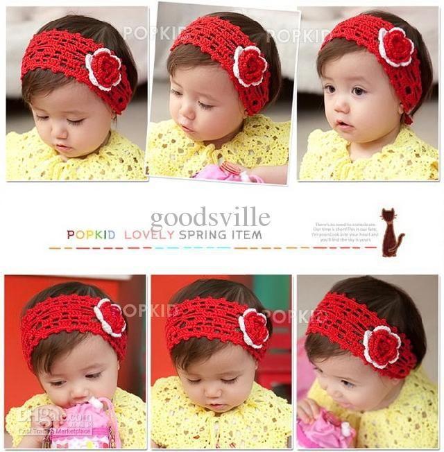 Cintillo a Crochet para Bebes!!!