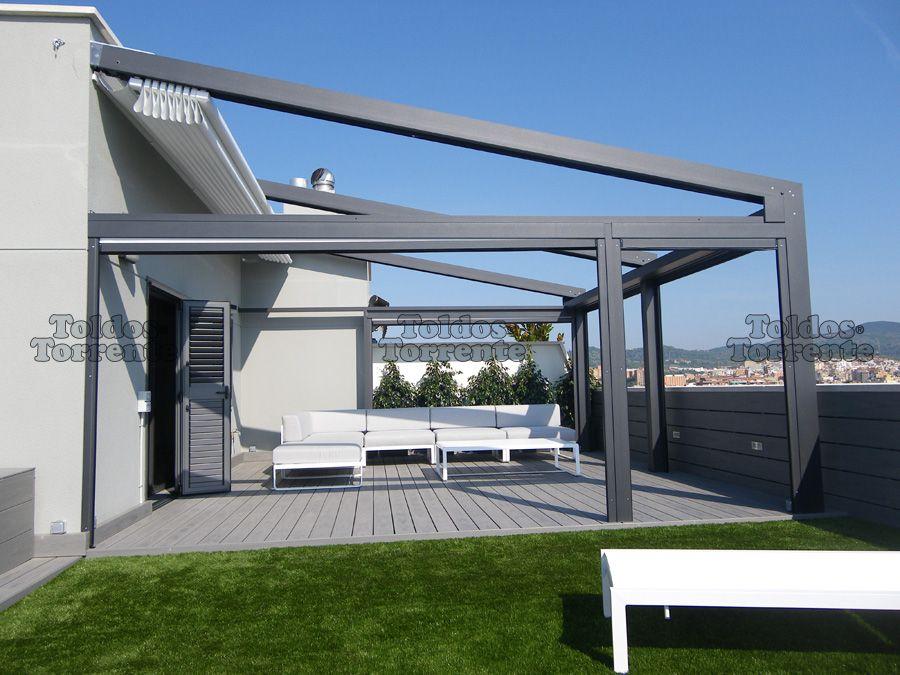 Pergolas aluminio buscar con google terraza - Pergolas de aluminio para terrazas ...