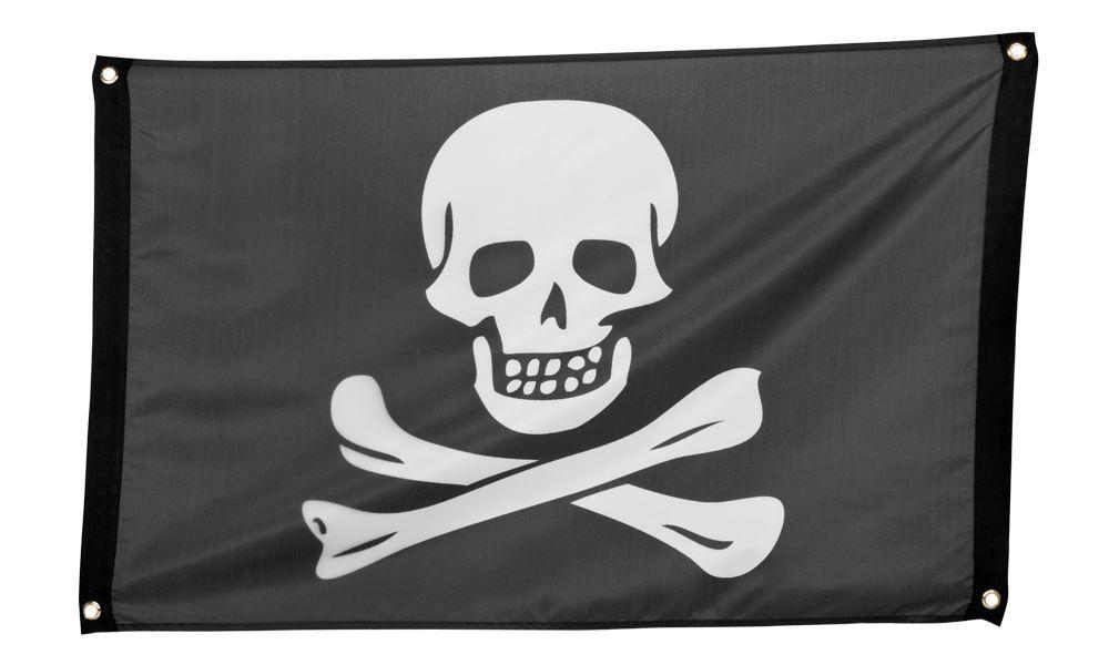 Ver detalles de Bandera pirata negra