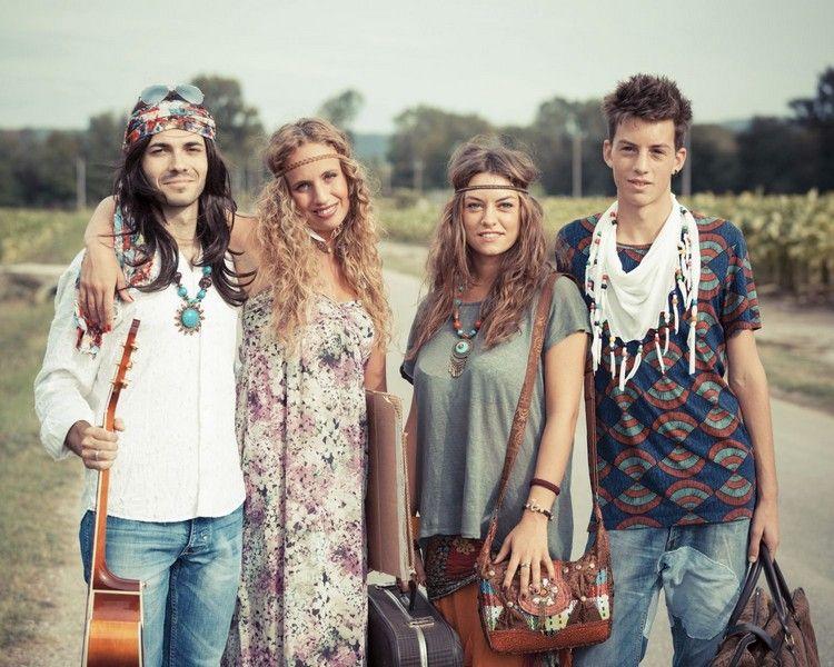 70er Jahre Mode Was Kann Man Zu Einer Party Anziehen Anziehenintended Frisuren For70iger Fashion 70s Fashion Hippie Style