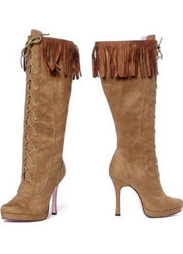 Adult Cheyenne Indian Shoe Leg Avenue LA426 6 Multi