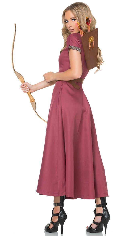 16a47d1f838a Medieval Huntress Costume