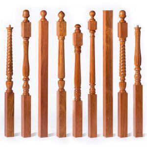 Best Turned Newels Newel Posts Wood Stairs Handrail Design 400 x 300