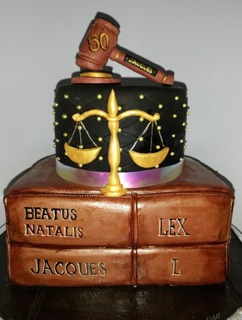 Scale of justice. Law cake | Themed cakes, Sugar art ...
