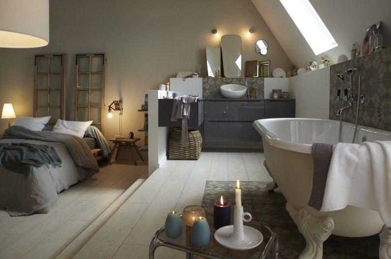 Chambre Adulte Salle de bains Blanc / Beige / Naturel JACOB DELAFON