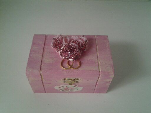 My Sweet Rose Ring Bearer Box Wedding Ring by TrulyUniqueBouquets, $18.00