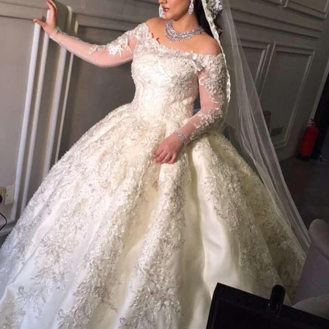 فستان زفاف فساتين زواج خطوبه يوم العمر زواجات فساتين سهره سهرة الامارات ابوظبي دبي Dubai فستان Amazing Wedding Dress Wedding Dresses Bride Dress