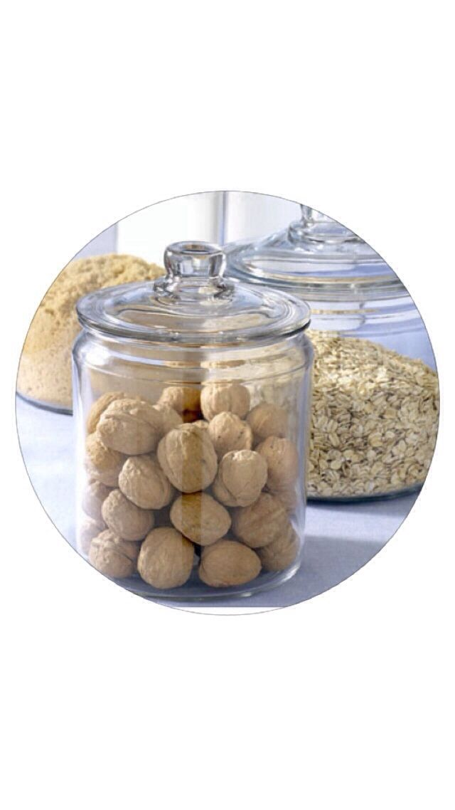 Pantry is having a makeover with these amazing jars. #organizing #storage #thelittlethingsbyjo
