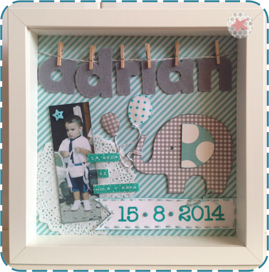 scrapbooking idea for a frame ♥ | Silhoette cameo | Pinterest ...