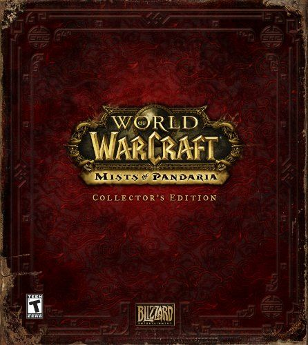 World Of Warcraft Mists Of Pandaria Collector S Edition World Of Warcraft Warcraft Book Worth Reading