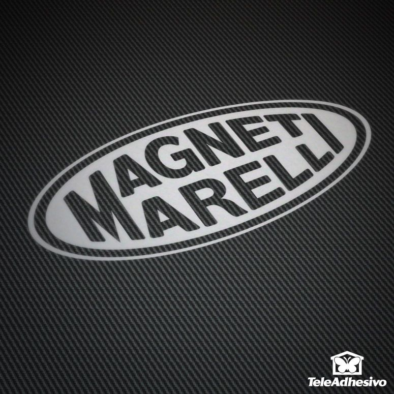 Pegatina Magnetimarelli #magneti #marelli #pegatina #adhesivo #tuning #moto #TeleAdhesivo