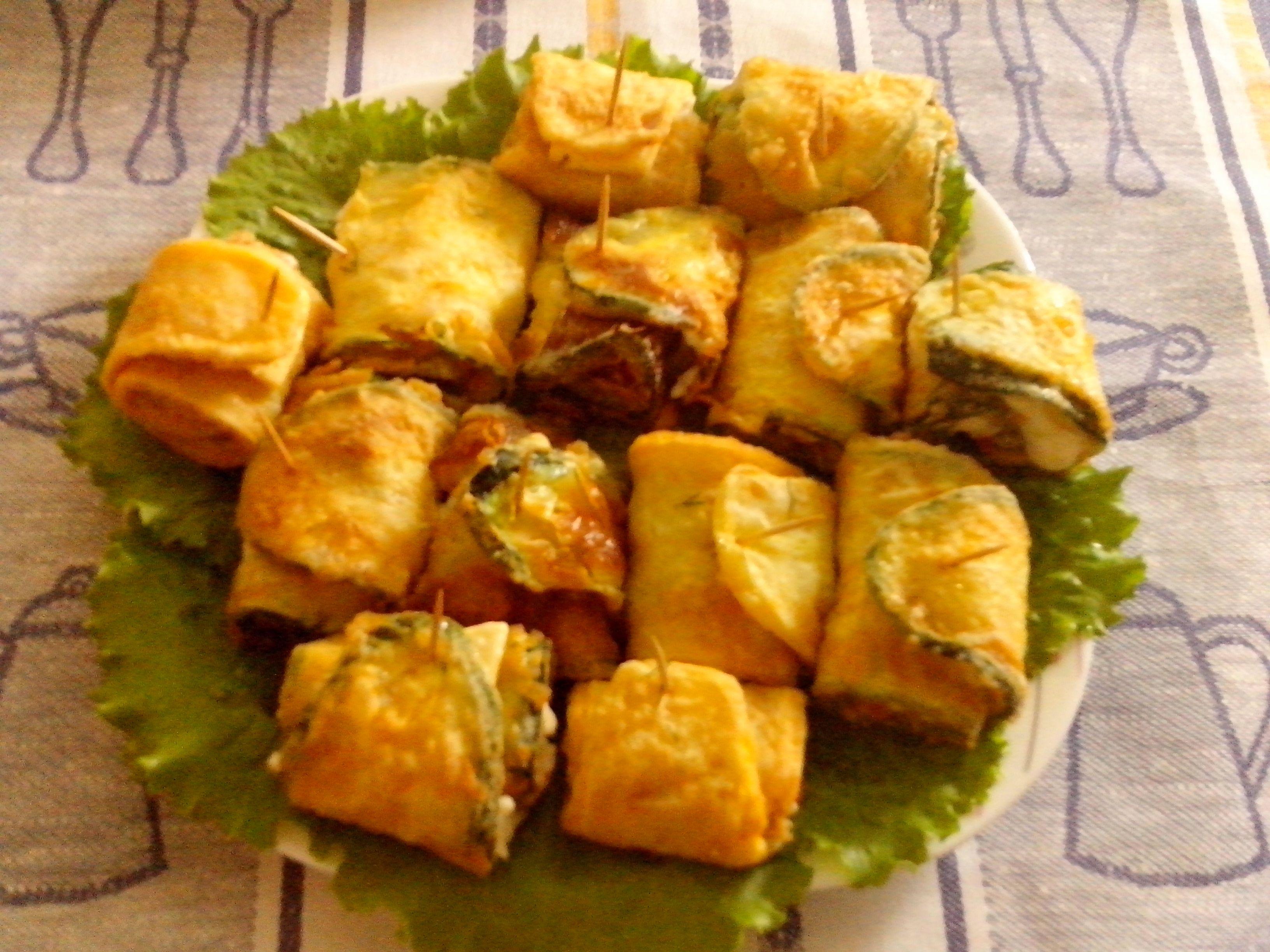 закуска тёщин язык из кабачков рецепт с фото