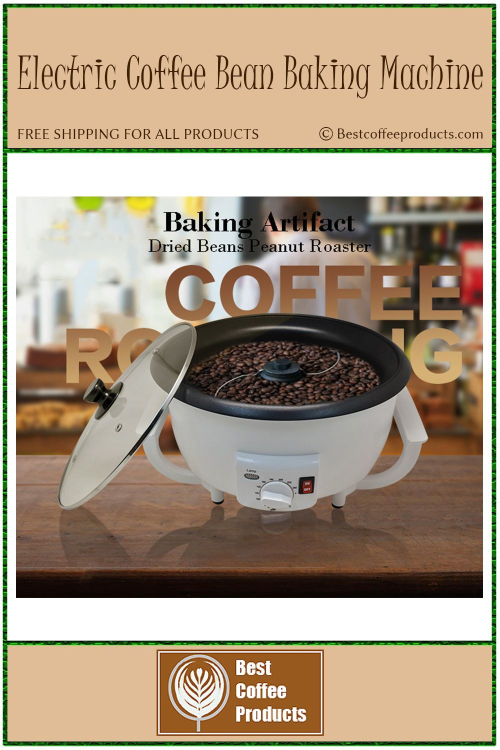 220v electric coffee bean cooking device dried fresh fruit