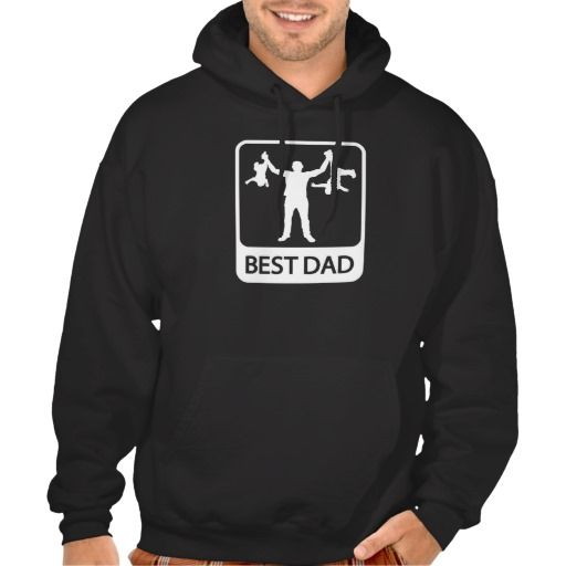 Worlds Best Dad Daddy Fathers Day Gift Present Idea Hoodie Pullover Sweatshirt