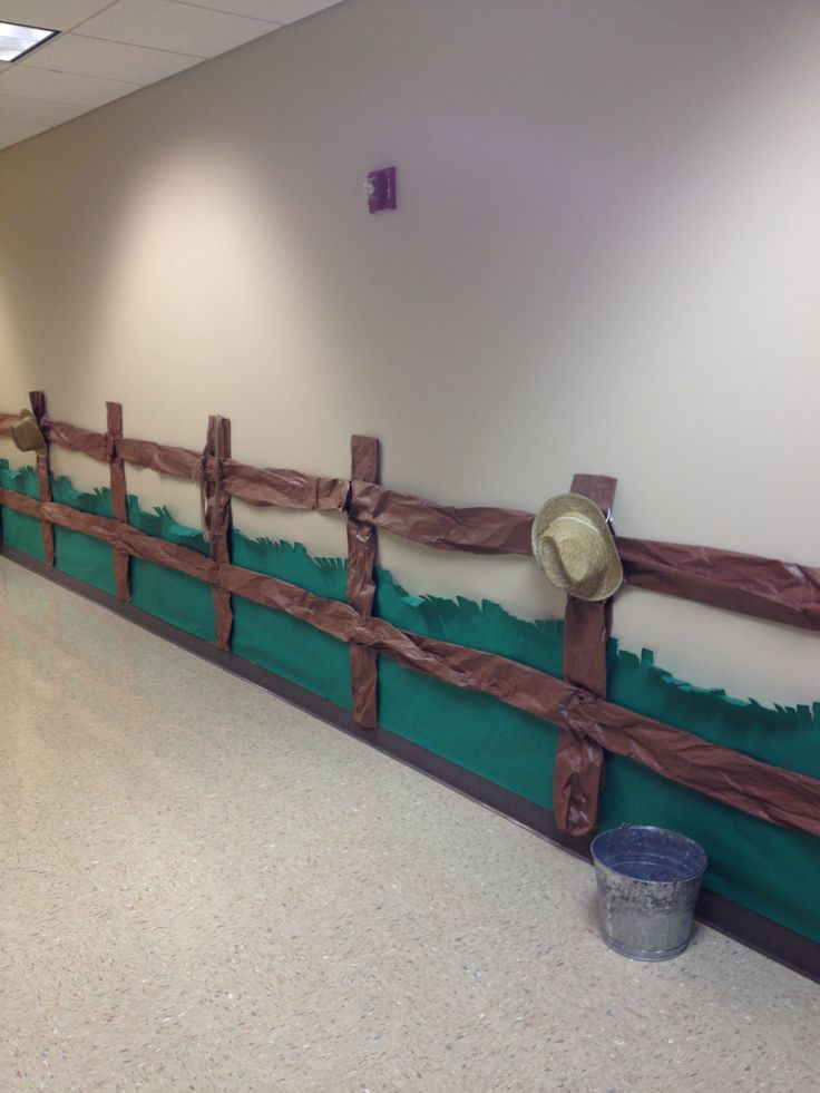 Western Crafts For Vbs Wild West Fence Country Western