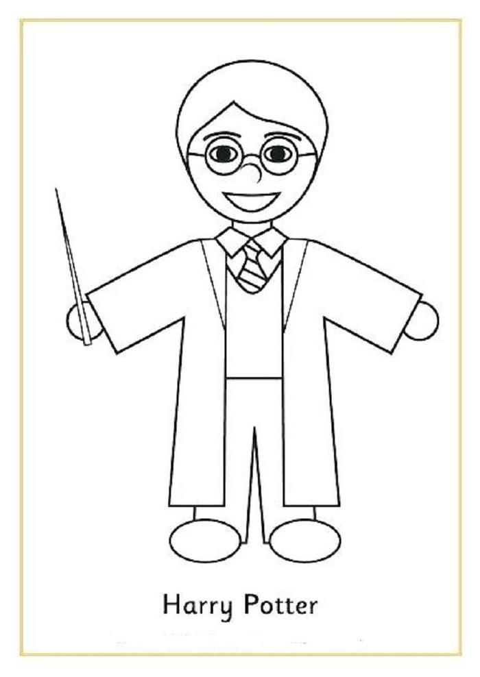 Read moreHarry Potter Coloring Pages Easy   Harry potter ...