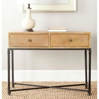 Charmant Safavieh Julian Natural Console Table | Overstock.com