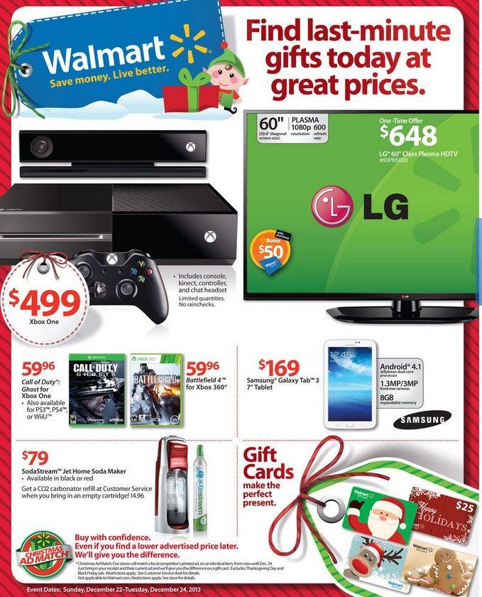 Walmart Ad Sneak Peek For 12/22/2013-12/24/2013 Some store