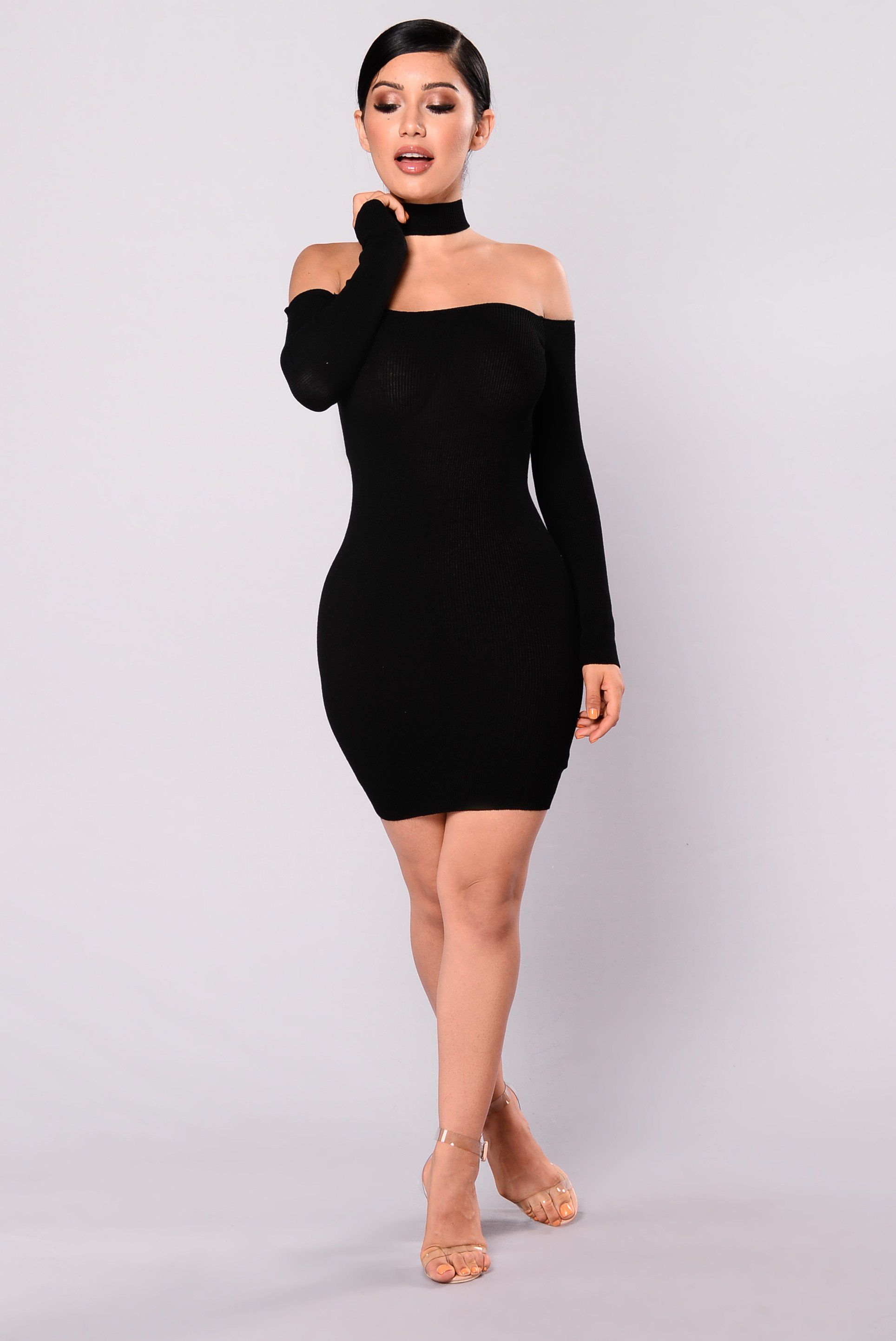Image result for fashion nova black short dress