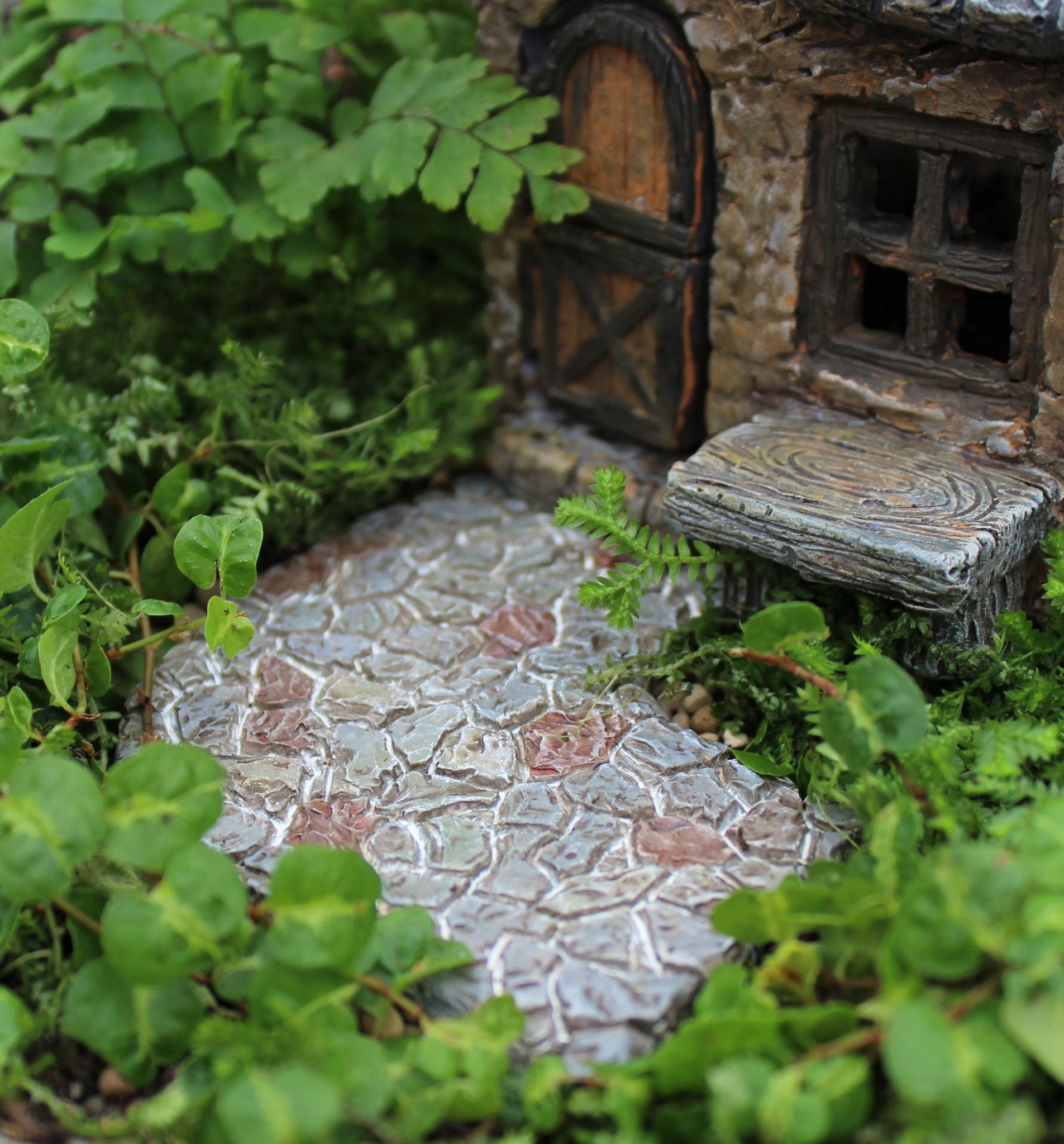 Curved Pathway Fairy Garden Landscaping Miniature