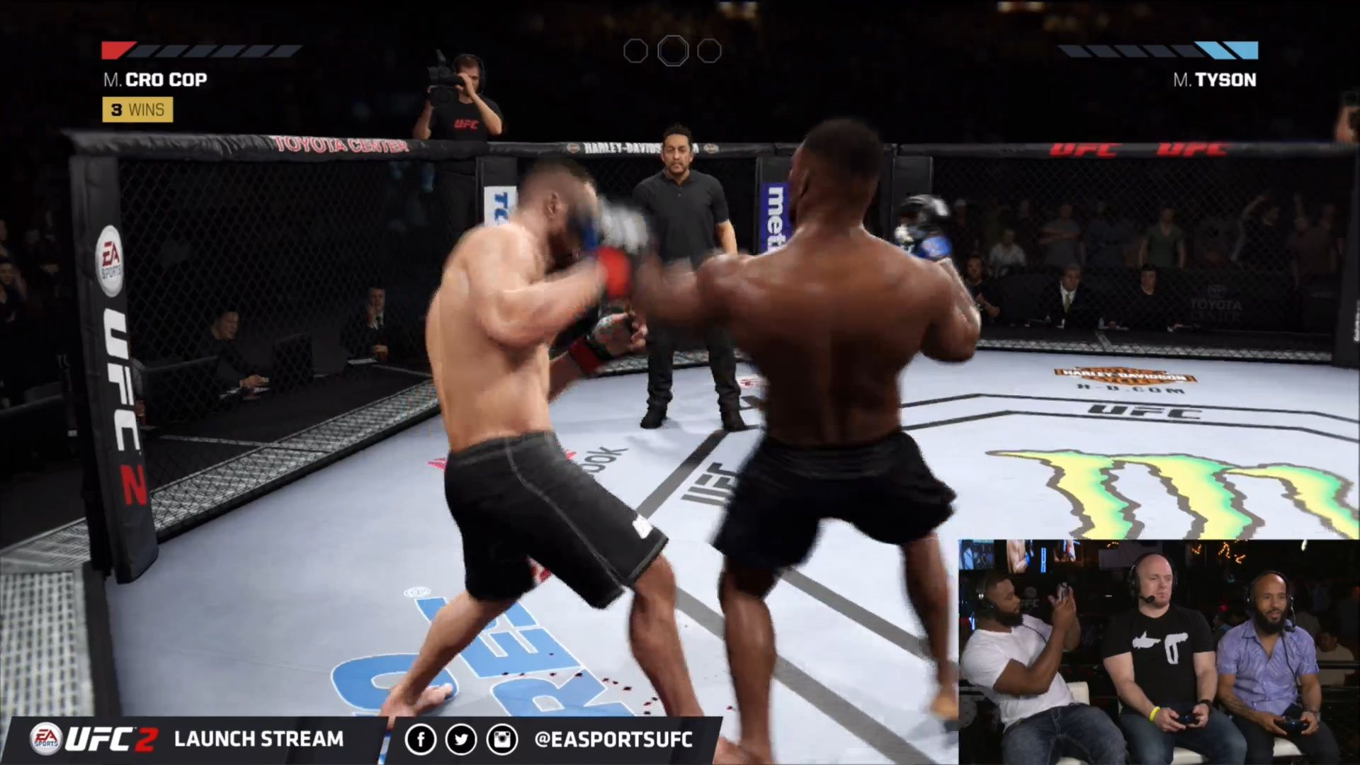 Ea Sports Ufc 2 Launch Party Stream Offers An Hour And Half Of Gameplay Sports Gamers Online Ea Sports Ufc Ea Sports Ufc 2