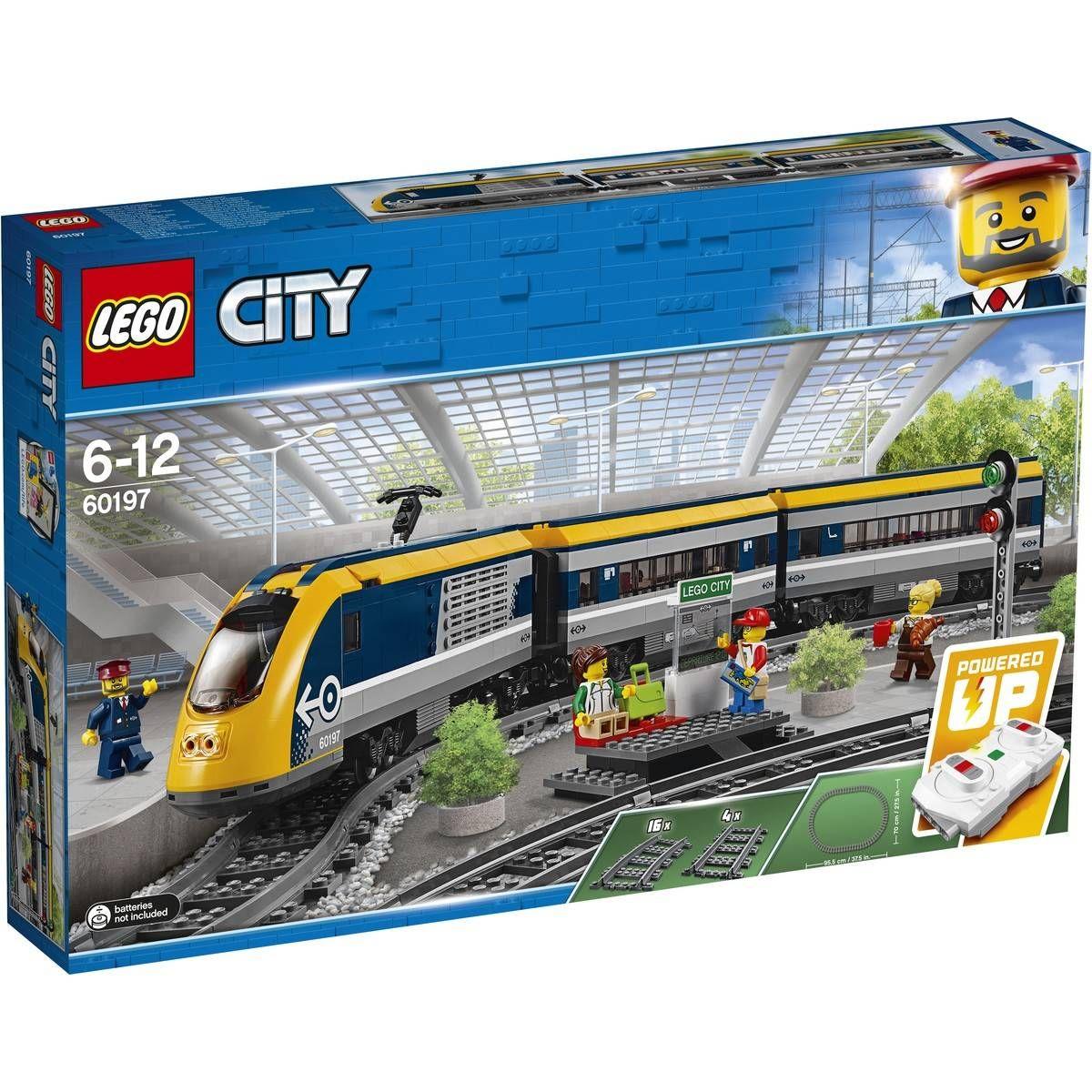 Lego City Trains Passenger Train 60197 Lego City Train Lego City Train