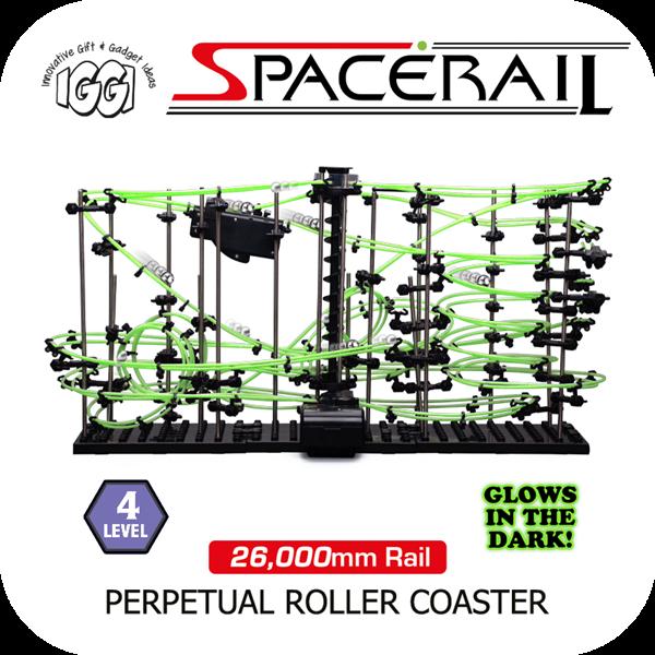 Level 3 Space Rail Perpetual Marble Run Rollercoaster Coaster Tracks Gift Set UK