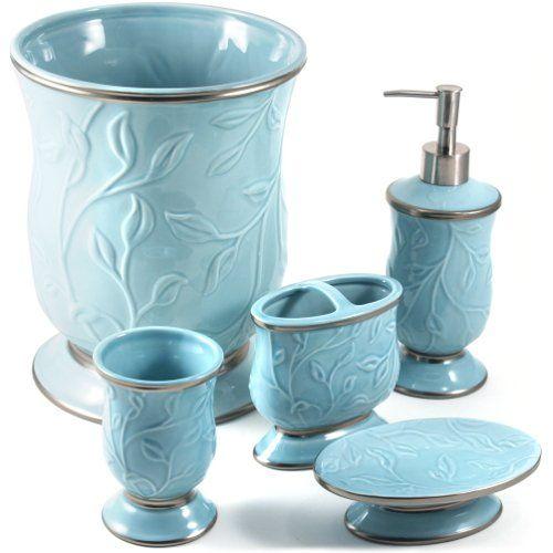 Saturday knight ltd seafoam blue ceramic 5 piece bathroom accessory saturday knight ltd seafoam blue ceramic 5 piece bathroom accessory set saturday knight ltdhttp aloadofball Choice Image